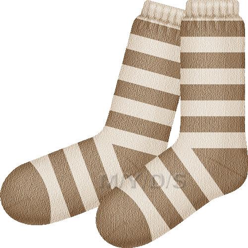 靴下(ソックス)のイラスト・条件付フリー素材集