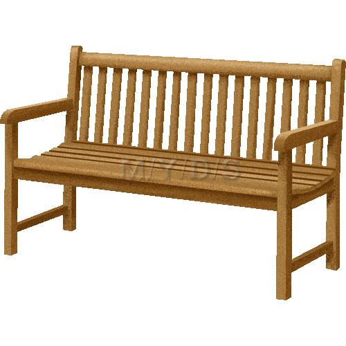 ベンチ/長椅子のイラスト・条件付フリー素材集