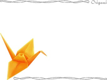 Origami Crane Clip Art : 無料 数学プリント : プリント